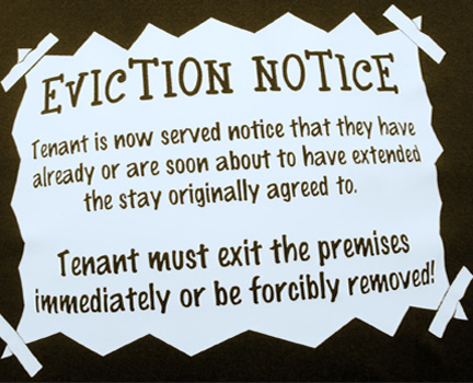 how to get an emergency eviction