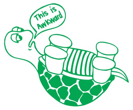 awkward turtle dating