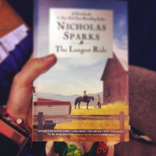 Free pre-release Nick Sparks book? Why I don't mind if I do ;)