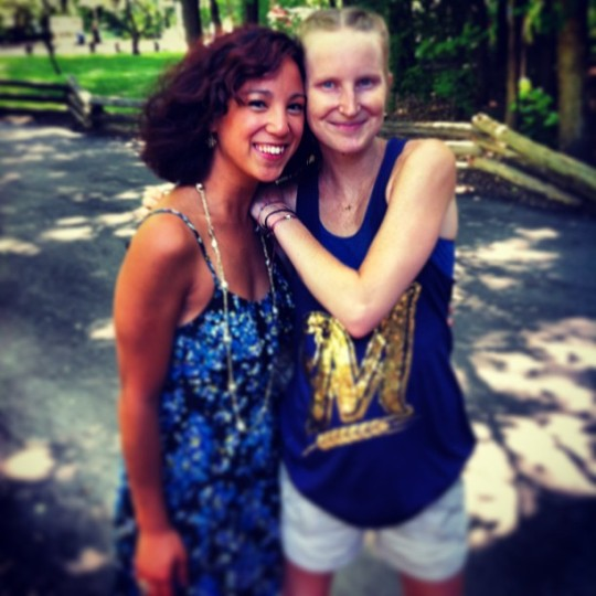 Zoo trip with the lovely Mary S! Ignore how incredibly pale I am next to this tanner than tan beauty.