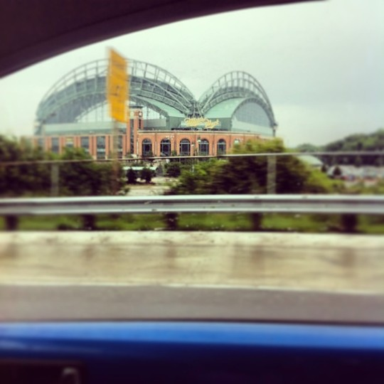 You can't NOT have a great day when you get to drive by this beauty every morning on your way to work ;)