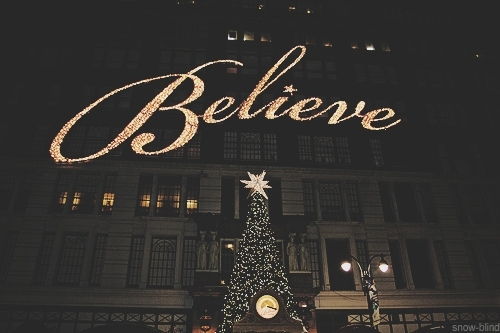 I Believe In Christmas.I Believe In The Magic Of Christmas This That And The